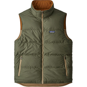 Patagonia Reversible Bivy Down Vest Men mojave khaki
